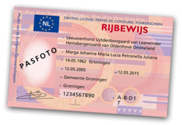 Rijbewijs Verlopen tussen 1-02 en 31-08-2020??