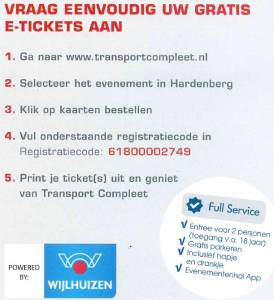 Tickets Transportbeurs
